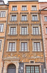 Under the Negro house (1627) at Old Town Market Place. Warsaw