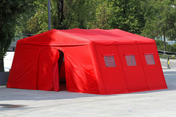 Emergency tent
