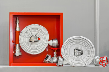 Fire hose equipment