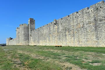 Südansicht der Festung Aigues-Mortes