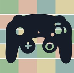 Game Console Icon   Illustration