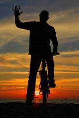 plajda bisiklet
