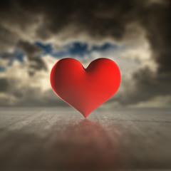 Heart storm.