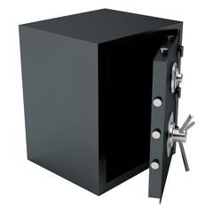Open Bank Steel Safe.