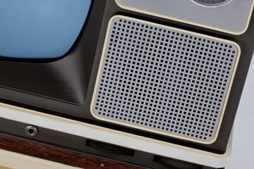 retro tv speakers