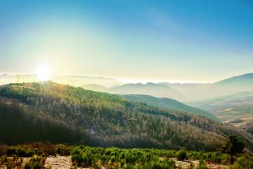 mountain in winter col de mollo