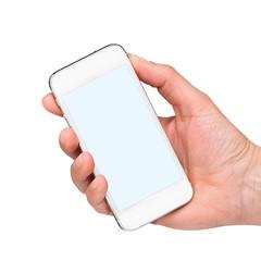 Mobiltelefon mit Hand