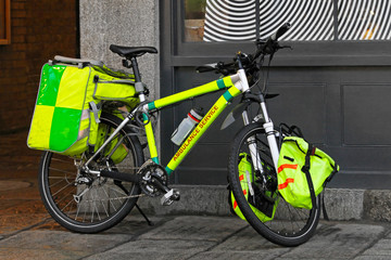 Ambulance bicycle