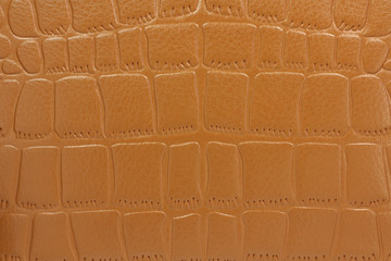 brown patent leather abstract background