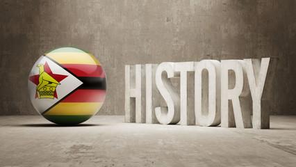 Zimbabwe. History  Concept.