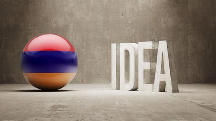 Armenia. Idea  Concept.