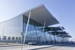 modern international airport in Wroclaw, poland