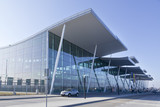 modern international airport in Wroclaw, poland
