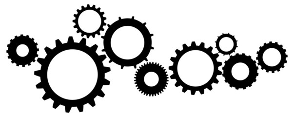Cogs And Gears Icon Vector Illustration