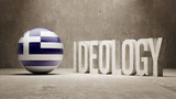 Greece. Ideology  Concept. poster