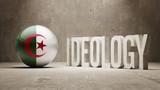Algeria. Ideology  Concept. poster