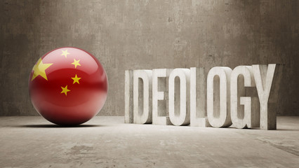 China. Ideology  Concept.
