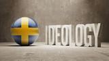 Sweden. Ideology  Concept. poster