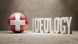 Switzerland. Ideology  Concept. poster