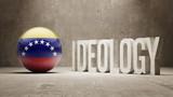 Venezuela. Ideology  Concept. poster