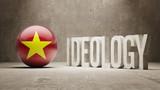 Vietnam. Ideology  Concept. poster