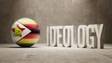 Zimbabwe. Ideology  Concept. poster
