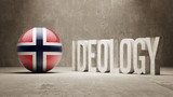 Norway. Ideology  Concept. poster
