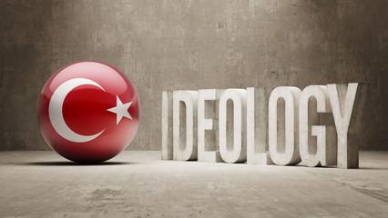 Turkey. Ideology  Concept.