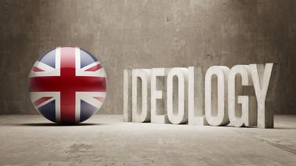 United Kingdom. Ideology  Concept.