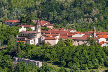 Small town on the hills of Piedmont.