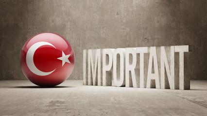 Turkey. Important  Concept.
