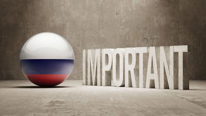 Russia. Important  Concept.