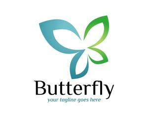 butterfly logo template v.10
