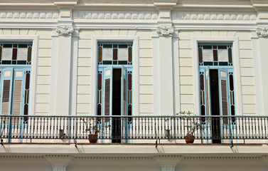 white house in Havana street