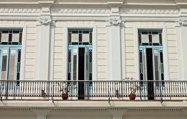 white house in Havana street