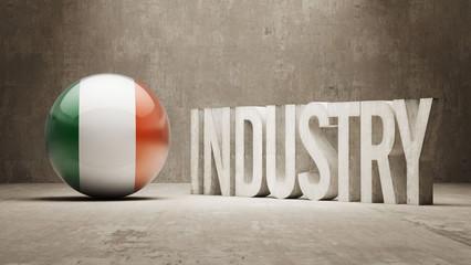 Ireland. Industry Concept.