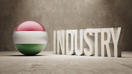 Hungary. Industry Concept.
