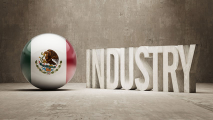 Mexico. Industry Concept.