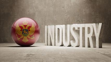 Montenegro. Industry Concept.