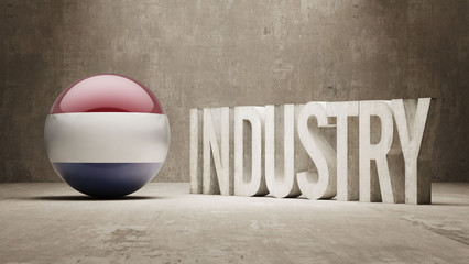 Netherlands. Industry Concept.