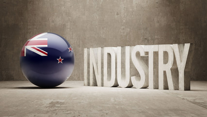 New Zealand. Industry Concept.
