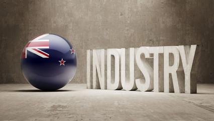 New Zealand. Industry Concept.