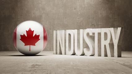 Canada. Industry Concept.