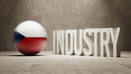 Czech Republic. Industry Concept.
