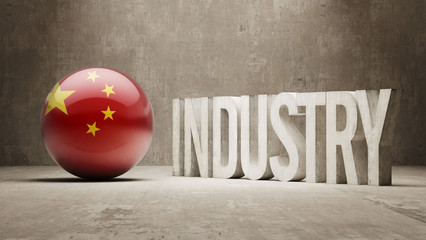 China. Industry Concept.