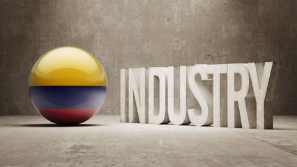 Colombia. Industry Concept.