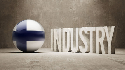 Finland. Industry Concept.
