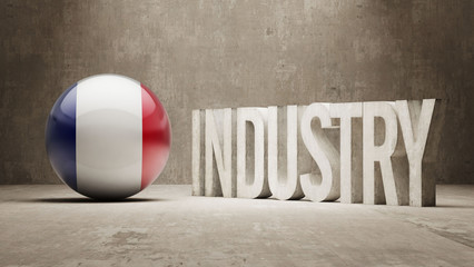 France. Industry Concept.