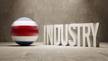 Costa Rica. Industry Concept.