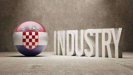 Croatia. Industry Concept.
